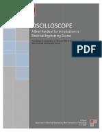 Oscilloscope Handout