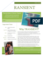 Transient Volume I Issue 1