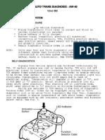 960 AW40 Gearbox Diagnostics