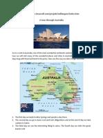 A Tour Trough Australia