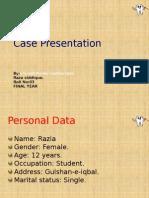 Case Presentation Raza Complete
