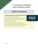 Common Law Default Process - Guide v3
