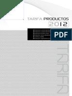 FANOX_PRECIOS_2012