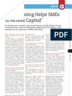 Credit Rating Helps SME to Access Capital