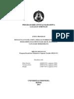 PKM_Ellen Dawitri_Penggunaan Panel Surya Sebagai Sumber Energi Subtitusi Pen Damping Bagi Pengusaha Kecil Di Daerah Yang Baru Berkembang