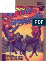 (Comic Book) Crossover Marvel - Dc - Superman vs Spiderman