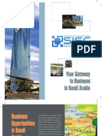 Saudi Investment Support Center Brochure