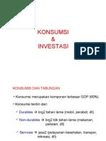 Konsumsi-Investasi