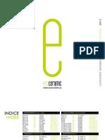Ecoceramic CATALOGO 2012