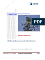 RF Planning Procedure