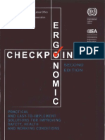 ILO Ergonomic Check Point
