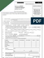 CEN 3 2012 Application