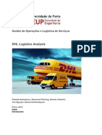 DHL Logistic Assignment _ Supply Chain (YEN's Part)