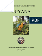 Peace Corps Guyana Welcome Book  |  April 2012 (Update)