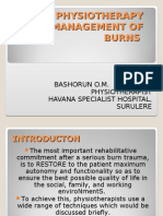 Role of Physiotherapy in Management of Burns-hsh