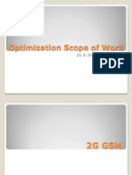 Optimization Scope of Work