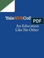Yale NUS College Admissions Prospectus