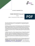 Draft Agreement SAJW Contract
