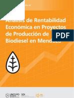 Analisis de La ad Economica de La Produccion de Bio Diesel en Mendoza 2011
