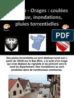 Orages Dans Le Bas-Rhin