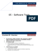 HCI Software Tools