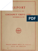Coconut Grove Fire Report