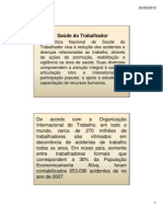 10 Saúde do Trabalhador Brasil Sorridente