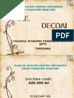 Plan de Afaceri PPT NATIONAL Refacut BG