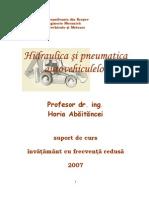 Hidraulica Si Pneumatic A Autovehiculelor