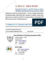 DASA 2012 Brochure