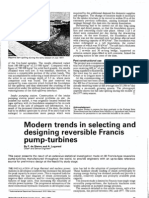 Modern Trends in Selecting and Designing Reversible Francis Pump-Turbine