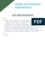 JERARQUIZACIÓN  DE CONTENIDOS PROGRAMÁTICOS DE MAESTRO A ...2