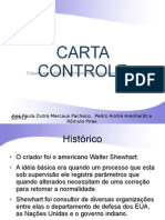 CARTA CONTROLE