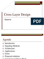 Cross Layer Design Ppt 4985