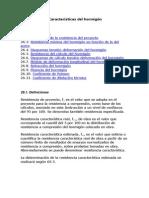 ARTICULO 26º Características del hormigón