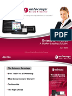 Enterasys Wireless Customer Presentation April 2011