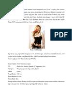 Biodata Avril Lavigne