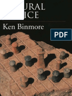 Natural Justice - K. G. Binmore