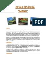 Reserva Biosfera de Manu