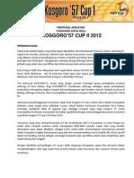 Proposal Kosgoro Cup II 2012