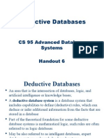 CS95 Deductive Databases