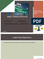 Basic Measurements