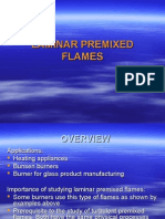 Laminar Premixed Flame