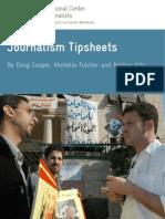 Journalism Tipsheets