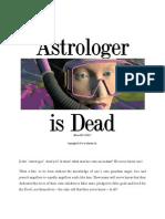 Astrology is Dead