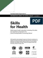 Skills for Health, des Para La Vida OMS