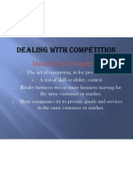 UNit 5- Dealing With Competition