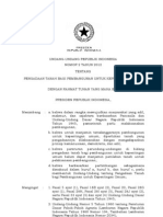 Uu No 02 2012 Pengadaan Tanah Bagi Pembangunan Untuk Kepentingan Umum