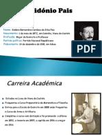 Sidónio Pais (Catarina Sousa)