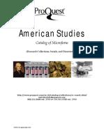 American Studies Catalog
